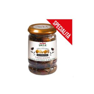OLIVES TAGGIASCHE DENOYAUTEES A L'HUILE D'OLIVE EXTRA VIERGE 180G SA